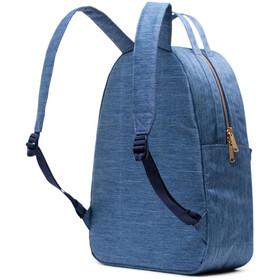 Herschel Nova Mid-Volume Backpack 24,5l, faded denim/indigo denim